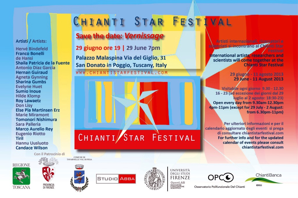 ChiantiStarFestival invito vernissage